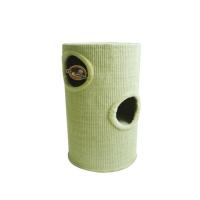 Γατόδεντρο - Ονυχοδρόμιο Cat Tree Cylinder Beige