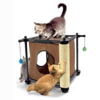 Φωλιά και Διαδραστικό Παιχνίδι Kitty City Hideaway