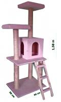 Γατόδεντρο - Ονυχοδρόμιο Cat Tree Pink