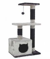 Γατόδεντρο - Ονυχοδρόμιο Cat Tree Black Grey Cat