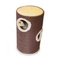 Γατόδεντρο - Ονυχοδρόμιο Cat Tree Cylinder Brown