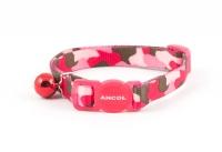 Περιλαίμιο Γάτας Army Pink